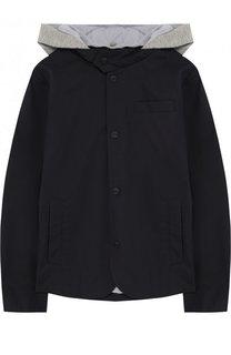Куртка на пуговицах с капюшоном Herno