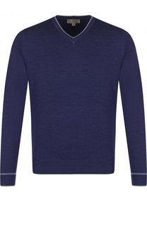Пуловер из шерсти тонкой вязки Canali