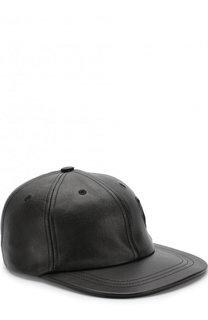 Кожаная кепка Saint Laurent