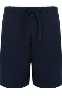 Хлопковые шорты с поясом на резинке BOSS