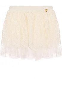 Кружевная юбка свободного кроя Angel's Face