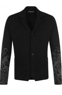 Однобортный льняной пиджак Gemma. H