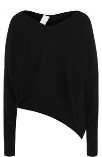 Пуловер асимметричного кроя из вискозы Isabel Benenato