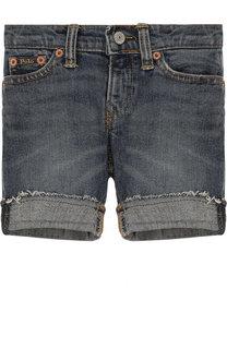 Джинсовые шорты с отворотами Ralph Lauren