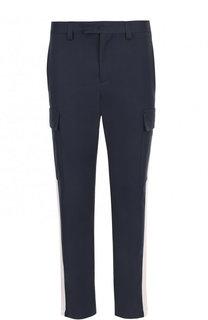 Хлопковые брюки-карго MSGM