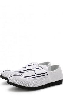 Текстильные кроссовки без шнуровки Rocco P.