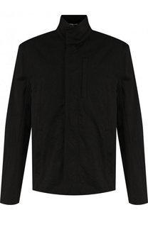 Хлопковая куртка на молнии с воротником-стойкой James Perse