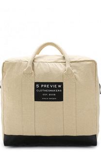 Текстильные сумка с аппликацией 5PREVIEW