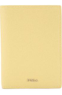 Кожаная обложка для паспорта с отделениями для кредитных карт Furla