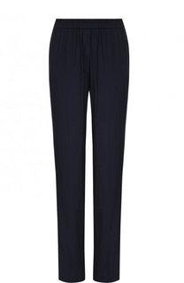 Хлопковые брюки прямого кроя с эластичным поясом Poustovit