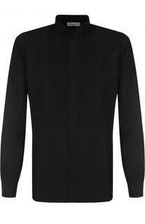 Шелковая вечерняя сорочка Saint Laurent