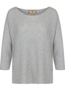 Пуловер свободного кроя с круглым вырезом Fay