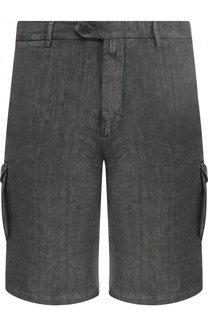 Льняные шорты с карманами Kiton