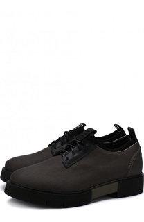 Текстильные ботинки на шнуровке O.X.S.
