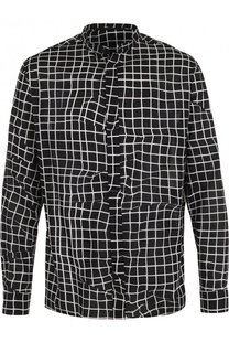 Хлопковая рубашка с принтом Haider Ackermann