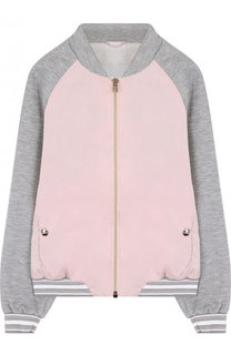 Текстильная куртка-бомбер Herno