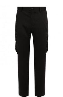 Шелковые брюки-карго Versace