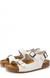 Кожаные сандалии на ремешках Il Gufo