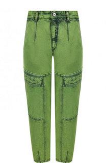 Укороченные зауженные джинсы Stella McCartney