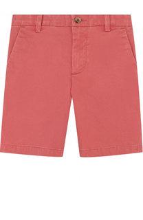 Однотонные хлопковые шорты Ralph Lauren