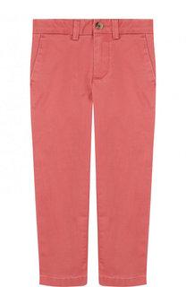 Однотонные брюки прямого кроя Ralph Lauren