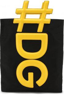 Текстильная сумка-шоппер Instabag Dolce & Gabbana