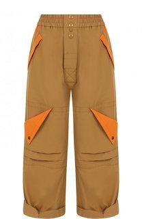 Укороченные брюки с карманами и эластичным поясом Marc Jacobs