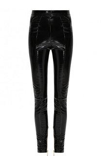 Однотонные брюки-скинни Balmain