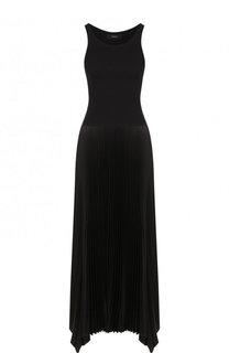Приталенное платье-миди с плиссировкой Theory