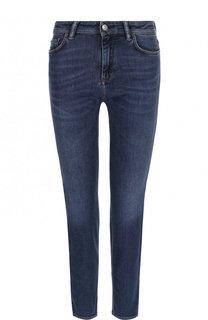 Укороченные джинсы прямого кроя с потертостями Acne Studios