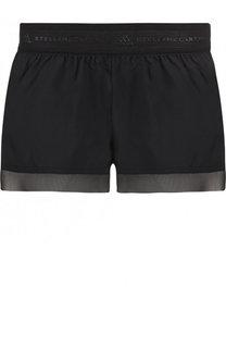Спортивные мини-шорты с перфорированием Adidas by Stella McCartney