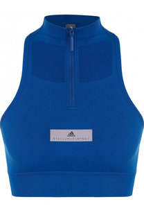 Спортивный топ с открытыми плечами Adidas by Stella McCartney