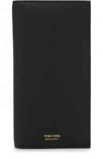 Кожаное портмоне с отделениями для кредитных карт и монет Tom Ford