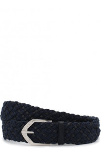 Плетеный ремень с металлической пряжкой Cortigiani
