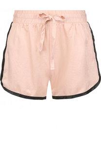 Хлопковые мини-шорты с эластичным поясом Deha