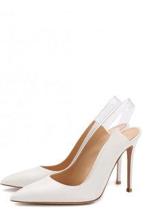 Кожаные туфли Eva на шпильке Gianvito Rossi