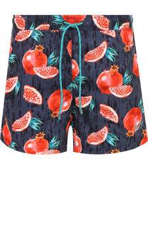 Плавки-шорты с принтом BOSS