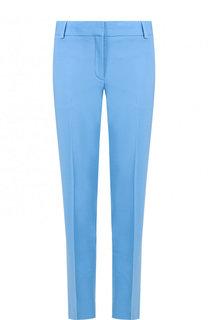 Укороченные шерстяные брюки со стрелками Theory