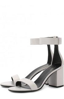 Кожаные босоножки Ville на устойчивом каблуке Balenciaga