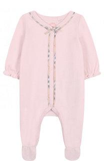 Хлопковая пижама Burberry