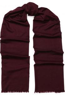 Шерстяной шарф с необработанным краем Loro Piana