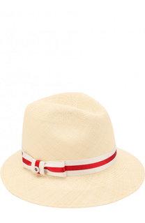 Соломенная шляпа Ingrid с лентой Loro Piana