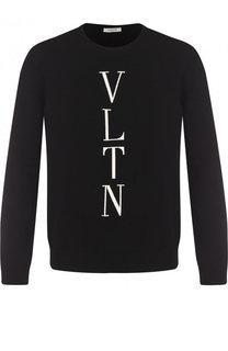 Джемпер из вискозы тонкой вязки Valentino