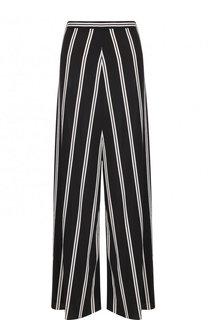 Широкие расклешенные брюки в контрастную полоску Alice + Olivia