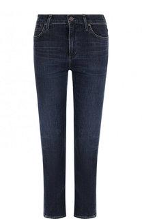 Укороченные джинсы с потертостями Citizens Of Humanity