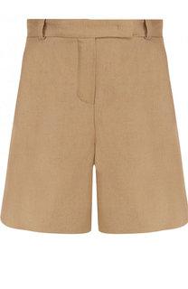 Льняные мини-шорты с карманами Loro Piana