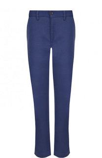 Укороченные однотонные брюки из хлопка Polo Ralph Lauren