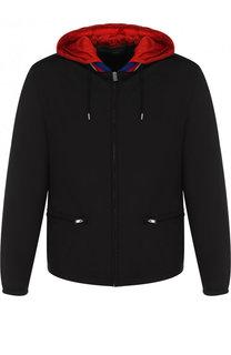 Куртка на молнии с капюшоном Gucci