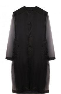Полупрозрачное пальто свободного кроя Maison Margiela