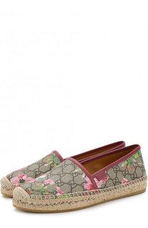 Текстильные эспадрильи GG Blooms Supreme Gucci